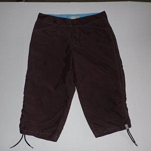 Royal Robbins Cropped Hiking Trail Pants Women 8
